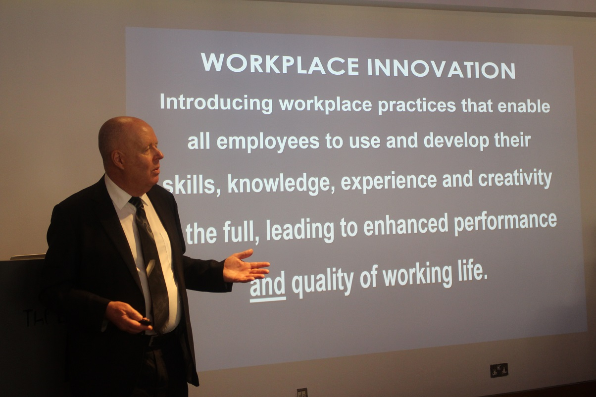 Workplace Innovation Glasgow Masterclass