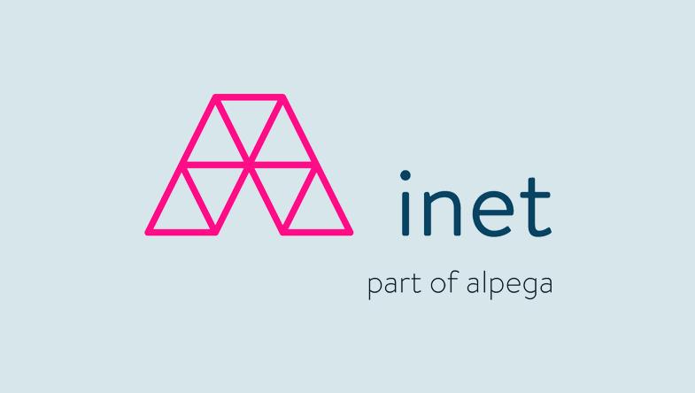 inet logo case study
