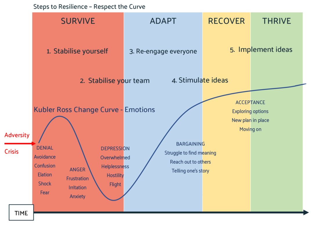 Steps to Resilience – Respect the Curve